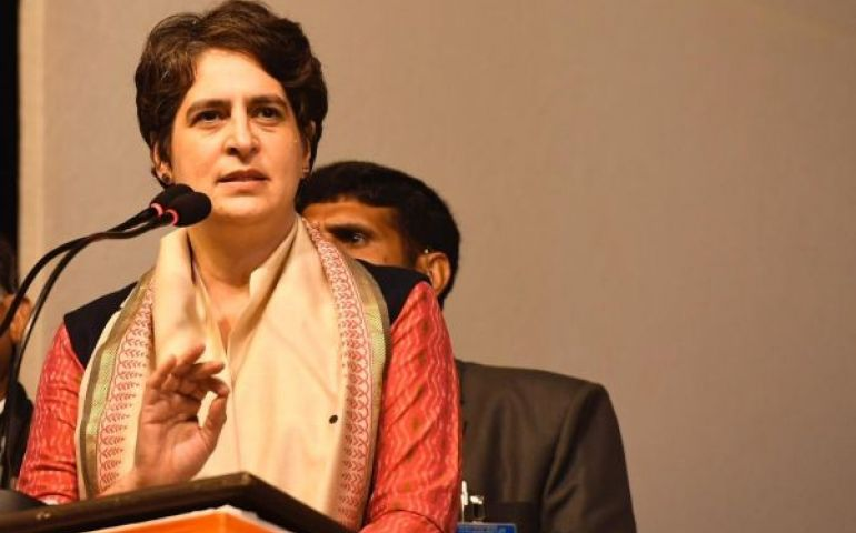 RSS is against reservation policy: Priyanka Gandhi