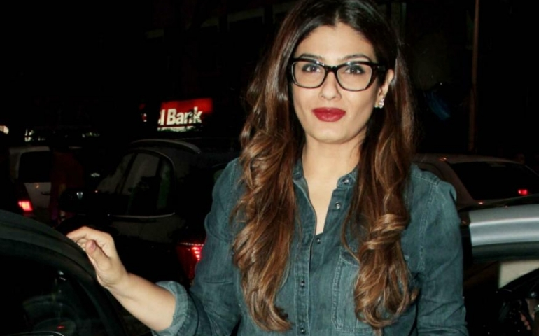Work keeps me grounded: Raveena Tandon