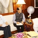 Nagaland Chief Minister Rio meets Union Home Minister Amit Shah