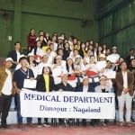 Med Dept wins Dimapur inter dept sports week