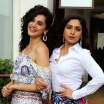 Taapsee, Bhumi pledge to support girl child empowerment